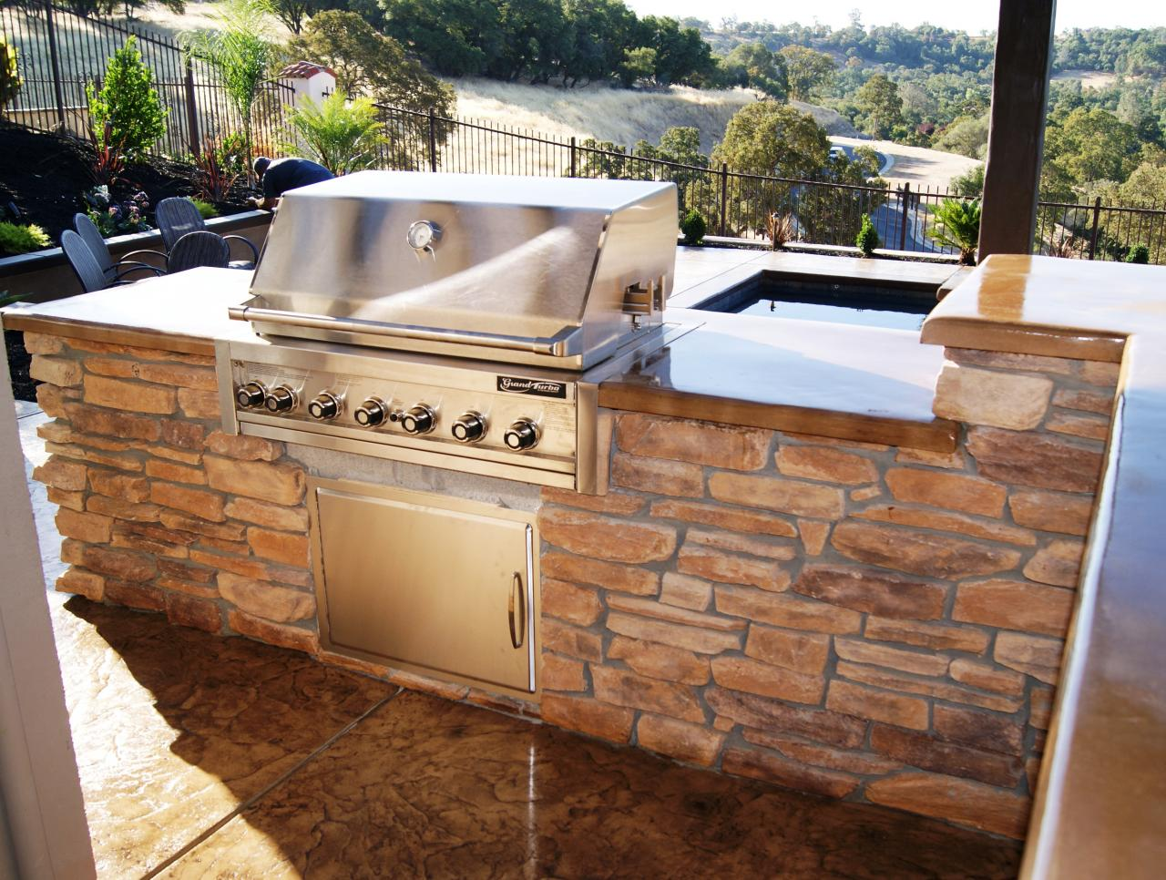 mayes landscape outdoor kitchens and fireplaces